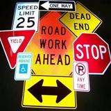 Public Works Picture of Signs