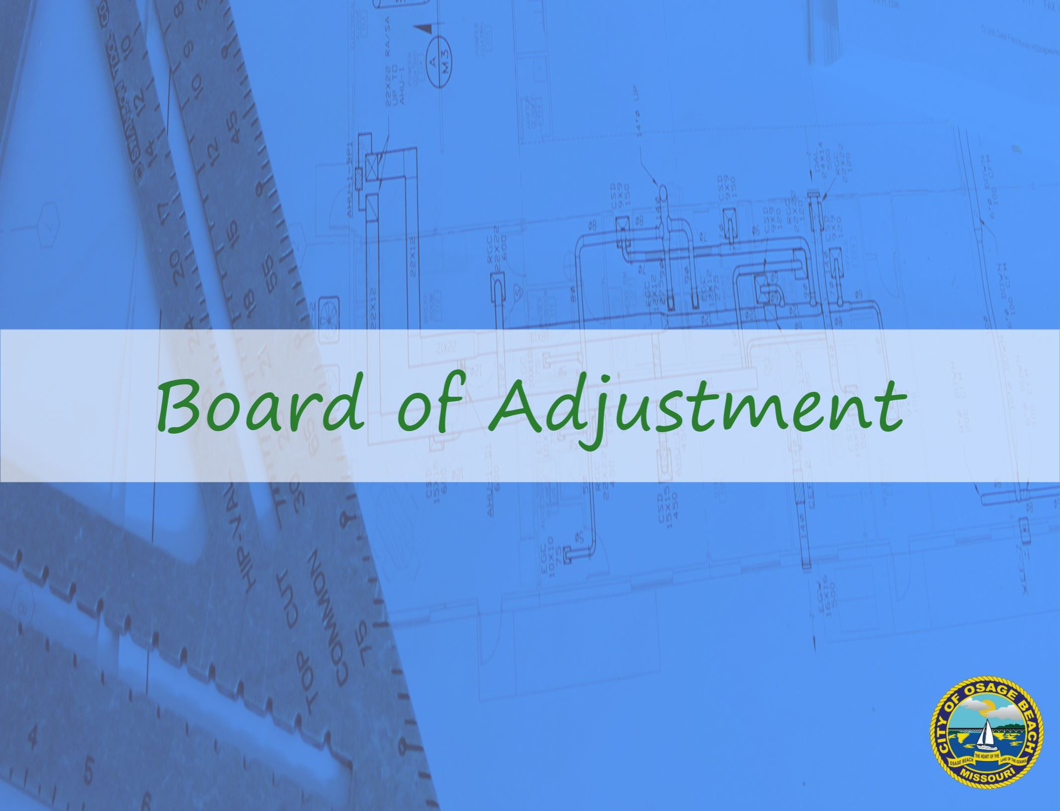Board of Zoning Adjustment Sign